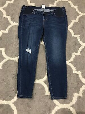 NWOT Old Navy Rockstar Maternity Jeans 18