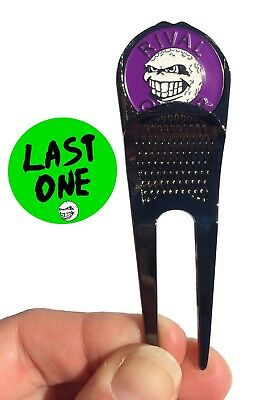 Divot 'Destroyer' Tool with Purple Ball Marker