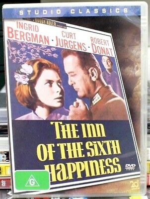 The Inn Of The Sixth Happiness DVD 1958 Movie Ingrid Bergman 50s Classic Old