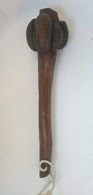 Very Nice Old Antique South Pacific New Zeland Maori Native War Club