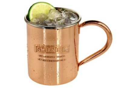 New In Box Copper Smirnoff Moscow Mule Mugs