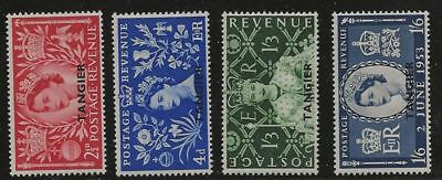 Great Britain Morocco Sc# 579-82 Mnh Stamps