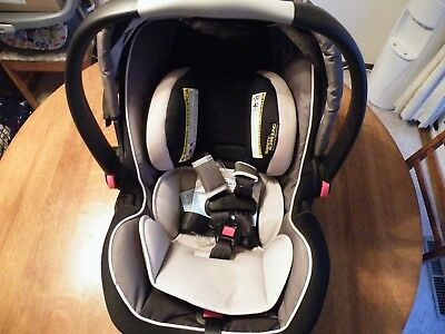 Graco Snugride 35 LX Click Connect Black and Gray Infant Car Seat New In Box