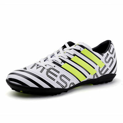e892d29f0443 2018 New Men Boys Soccer Shoes Cleats Football Indoor Sports Trainers  Sneakers