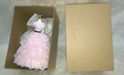 Vintage Dollhouse Artist Signed Mannequin & Dress Karen Benson + Bonus $16.99