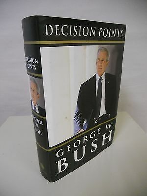 """President George W. Bush - """"Decision Points"""" - First Edition - SIGNED by Bush"""