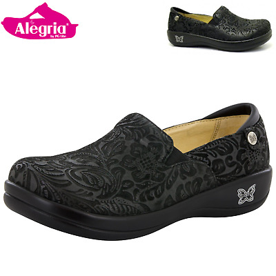 ALEGRIA Kelli Nursing Shoes Slip On Women's Work Working Hospitality - Black