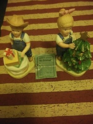 "Denim Days figurines collection ""It's Christmas"" #5563"