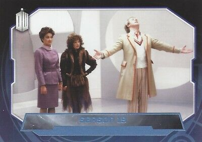 Parallel Base Card Blue 184 #079/199 Season 19 5th Fifth Doctor Who 2015 Topps