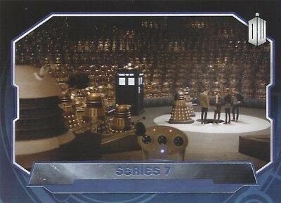 Parallel Base Card Purple 199 #93/99 Series 7 11th Doctor Who 2015 Topps
