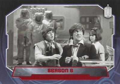 Parallel Base Card Red 171 #24/50 Season 6 2nd Second Doctor Who 2015 Topps