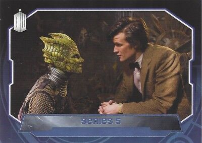Parallel Base Card Purple 197 #57/99 Series 5 11th Doctor Who 2015 Topps
