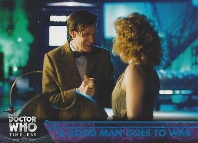 BLUE Parallel 79 A Good Man Goes to War #15/99 Doctor Who Timeless 2016 Topps