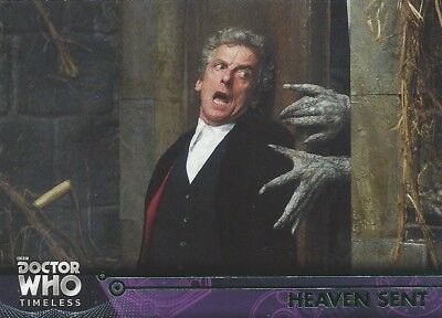 GREEN Parallel 100 Heaven Sent Clara 12th Doctor Who Timeless 2016 Topps Capaldi