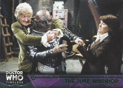GREEN Parallel 17 The Time Warrior 3rd Third Doctor Who Timeless 2016 Topps