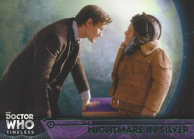 GREEN Parallel 89 Nightmare in Silver Clara 11th Doctor Who Timeless 2016 Topps