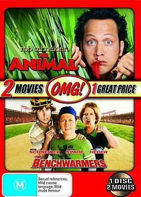The Animal / The Benchwarmers - DVD Region 4 Free Shipping!