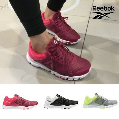 Reebok Yourflex Trainette 10 MT Running Shoes Sneakers Black Red Grey SZ4-12.5🔥