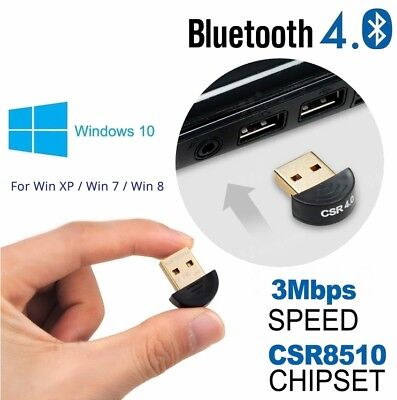 USB CSR 4 0 Bluetooth Dongle Adapter Receiver Connector for Windows