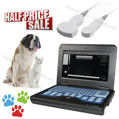 Veterinary Ultrasound Scanner VET Laptop Scanner Machine Convex+Micro Convex
