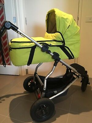 Mountain Buggy Swift Pram with Carrycot