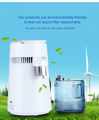 Pure Electric Water Distiller Distillation Purifier Home Use BSC-WD61 Dental Use