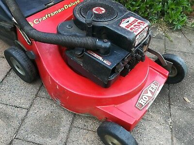 4 Stroke Rover/Briggs & Stratton Lawn Mower With Catcher fully checked over