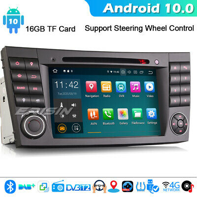 Android 8.1 DAB+ Autoradio GPS Canbus Mercedes Benz E/CLS/G Class W211 W219 WiFi