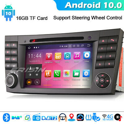 DAB+ Android 9.0 Autorradio Mercedes-Benz E/CLS/G Class W211 W219 GPS OBD CANBUS