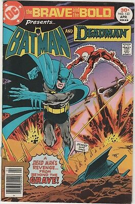 Brave And The Bold # 133**** Ft Batman And Deadman****1977***fine