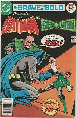 Brave And The Bold # 134*** Ft Batman And Green Lantern****1977***fine