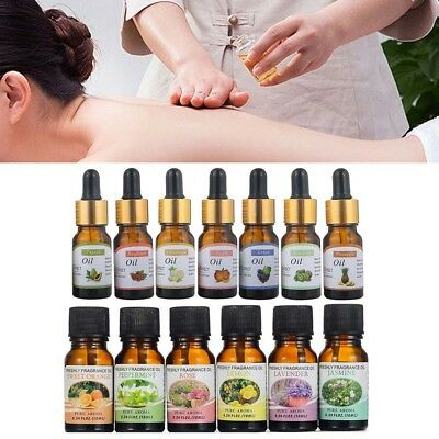 Essential Oils Set of 6 100% Pure Natural Fruit Aromatherapy Kit 10ml Gift New