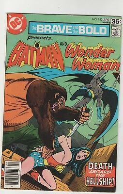 Brave And The Bold # 140*** Ft Batman And Wonder Woman****1978***fine