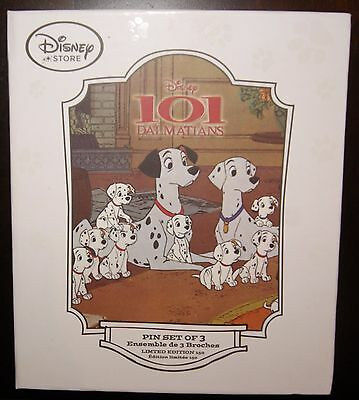Disney Store 101 Dalmatians Limited Edition Book Container LE 150 Without Pins