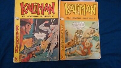 Kaliman Free Shipment Comic In Spanish Vintage  , Very Hard To Find , Num 176