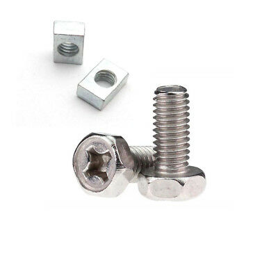 Motorcycle Motorbike Battery Terminal Nut and Bolt Kit M6x12mm Multipack Sets