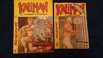 Kaliman Free Shipment Comic In Spanish Vintage  , Very Hard To Find , Num 142