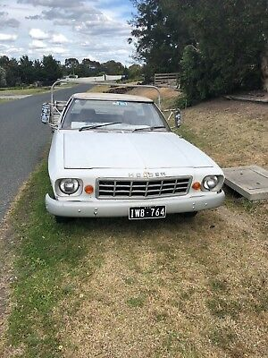 Holden HX One Tonner Ute 1977 - 202 Automatic - 1 Ton - Still Registered!