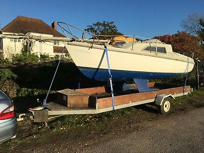Sailing Boat / Yacht, Prelude19ft. Road Trailer Included. Delivery Available.