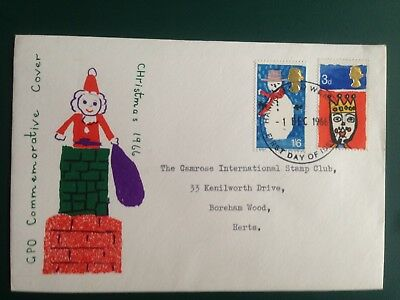 GB 1966 Christmas First Day Cover