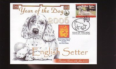 English Setter Year Of The Dog Stamp Souv Cover 3