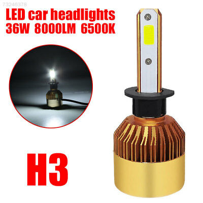 F078 Front Lamp S2 H3 Light Bulbs LED Headlight Cars 36W Replacement