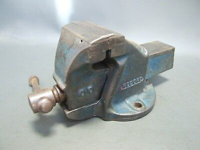 Record no 00 small bench vice vintage engineers old tool