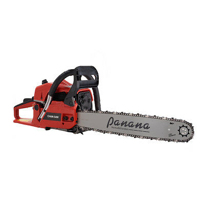 """Professional 58cc 20"""" Petrol Chainsaw + 2 x Chains + More Tool Accessories Kit"""