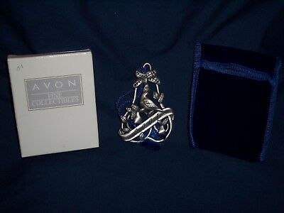 2001 Avon Collectibles Pewter Christmas Ornament A Partridge in a Pear Tree