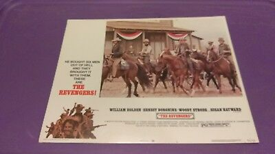 The Revengers 1972 #1 11X14 Lobby Card William Holden Ernest Borgnine Susan Hayw