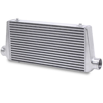 "3"" 76mm ALUMINIUM ALLOY 600x300x76mm DIY RACE RALLY FRONT MOUNT INTERCOOLER FMIC"