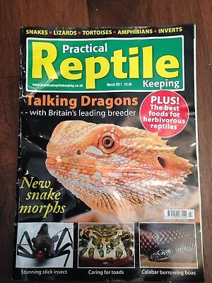 Practical Reptile Keeping Magazine - March 2011 - Talking Dragons
