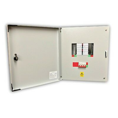Lewden E-TPN04 Distribution Board TP&N 3 Phase 125 Amp - 4 Way