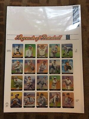 SCOTT #3408...LEGENDS OF BASEBALL...PANE OF 20 (33c) STAMPS...USPS-SEALED